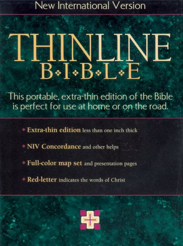 9780310903291: NIV Thinline Bible, Indexed