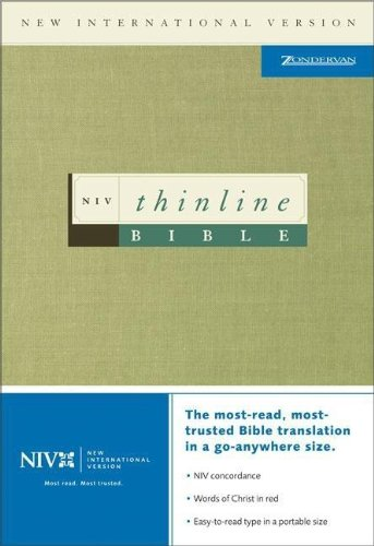 9780310903871: NIV Thinline Bible, Black