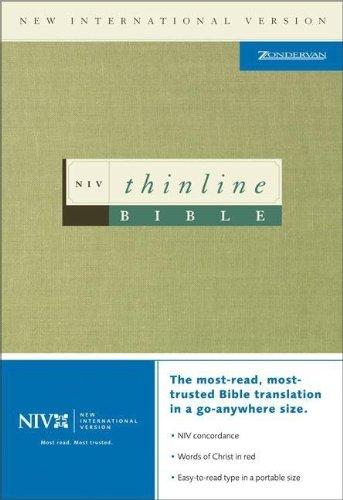 9780310903871: NIV Thinline Bible, Black