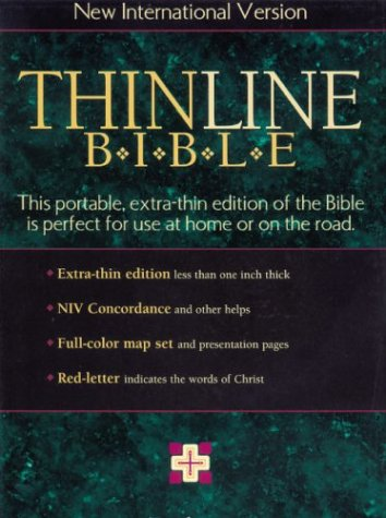 9780310903888: NIV Thinline Bible, Indexed