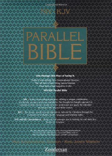 9780310906629: New International Version/ King James Version Parallel Bible: Burgundy