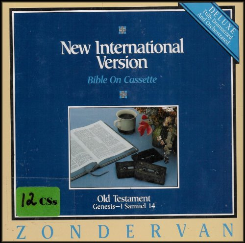 9780310907497: New International Version (NIV) Bible on Cassette (Old Testament, Genesis-1 Samuel 14)