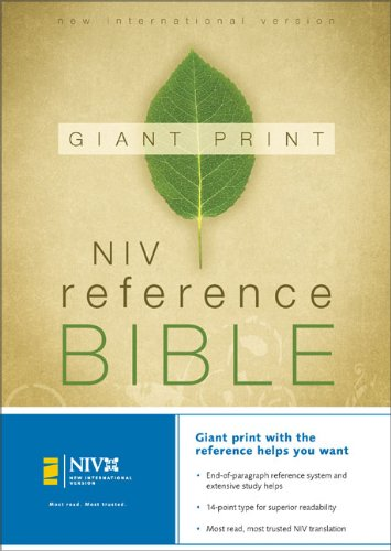 9780310908180: NIV Holy Bible Giant Print Reference Edition, Thumb Indexed