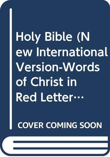 9780310908289: Holy Bible (New International Version-Words of Christ in Red Letter-Bonded Leather)