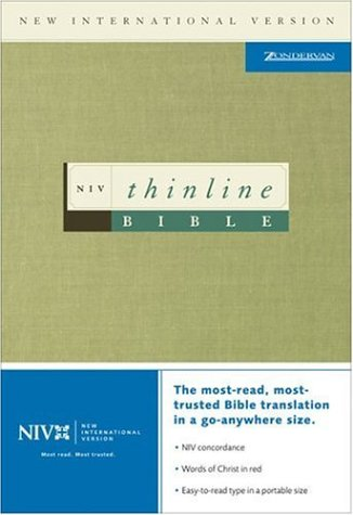 Thinline Bible: New International Version: Zondervan