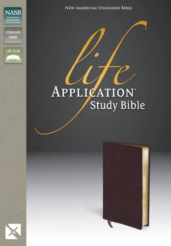 9780310908593: Life Application Study Bible, NASB