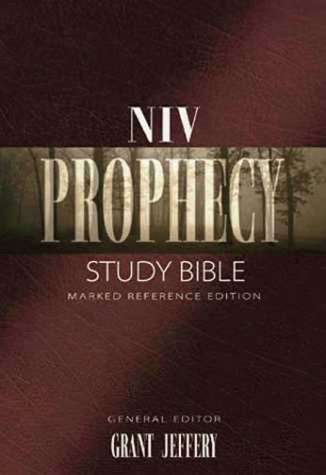 9780310908647: Niv Prophecy Study Bible Bonded Leather, Black: Marked Reference Edition