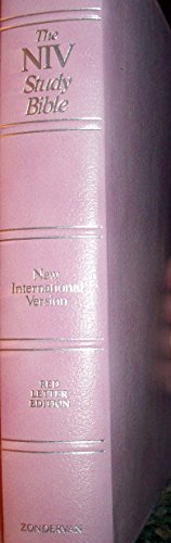 9780310908807: The Study Bible: New International Version/Tea Rose Bonded Leather