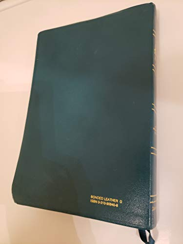 9780310909408: Holy Bible: New International Version/Student/Teal Bonded Leather