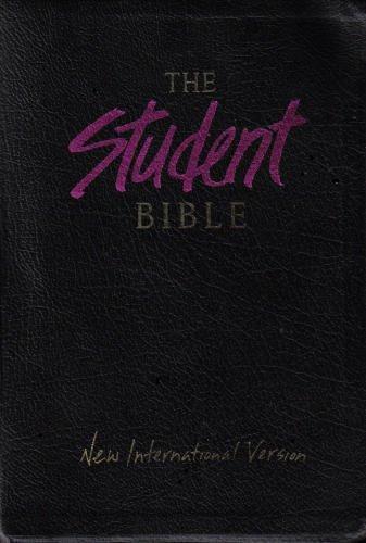 9780310909460: Student Bible/New International Version/Black Bonded Leather