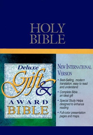 9780310909507 Niv Deluxe Gift Award Bible Abebooks Anonymous