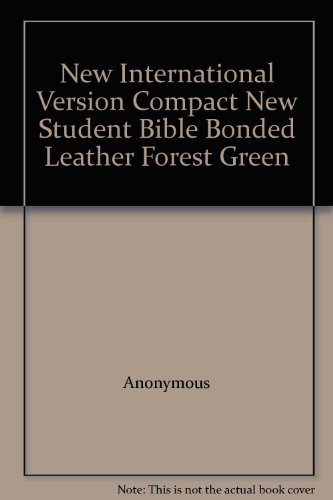9780310909668: New International Version Compact New Student Bible Bonded Leather Forest Green