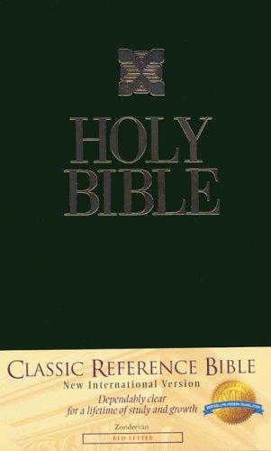9780310910480: Classic Reference Bible-NIV