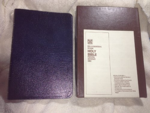 9780310910565: Reference New International Version 80953 Blue Personal