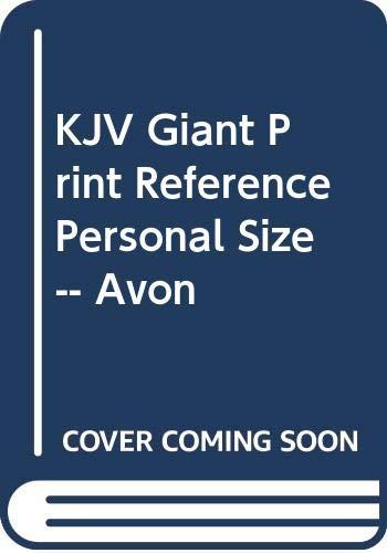 KJV Giant Print Reference Personal Size -- Avon (9780310911005) by Zondervan
