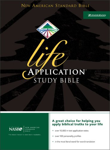 9780310911012: Life Application Study Bible, NASB