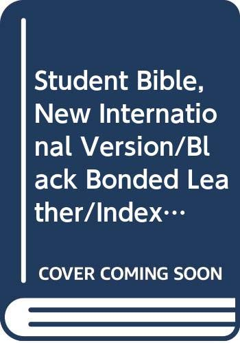 9780310911074: Student Bible, New International Version/Black Bonded Leather/Indexed