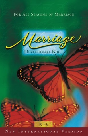 9780310911203: Marriage Devotional Bible - Burgundy