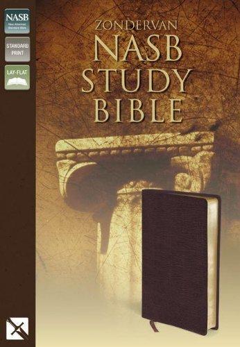 9780310911487: NASB Zondervan Study Bible (Burgundy)