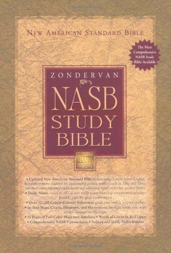 NASB Zondervan Study Bible, Indexed