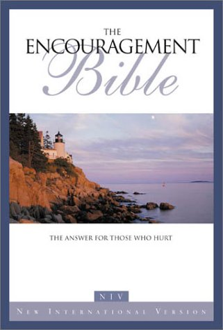 9780310912194: New International Version Encouragement Bible: The Answer for Those Who Hurt