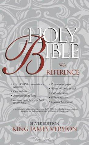 KJV Holy Bible Reference Silver Edition: Zondervan Staff