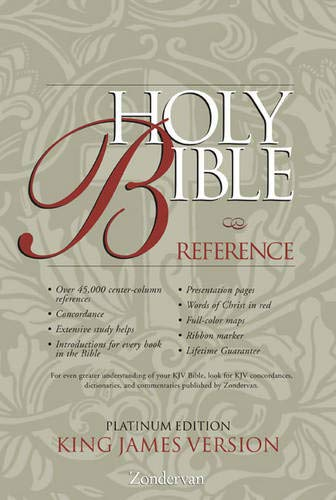 KJV Holy Bible Reference, Platinum Edition