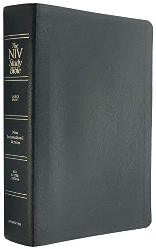 9780310914617: The NIV Study Bible (Black Bonded Leather)
