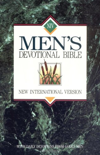 9780310915850: Men's Devotional Bible-NIV: With Daily Devotions from Godly Men