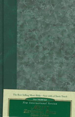 9780310916048: Bib New International Version Men's Devotional Bible: Classic, Gold Edging