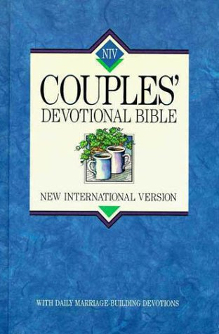 9780310916123: Holy Bible: Niv Couples' Devotional Bible/Burgundy Bonded Leather