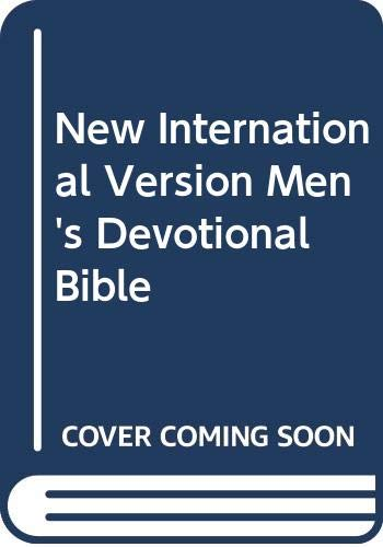 New International Version Men's Devotional Bible: Zondervan Publishing