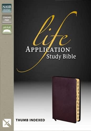 9780310916390: Life Application Study Bible, Indexed, NASB
