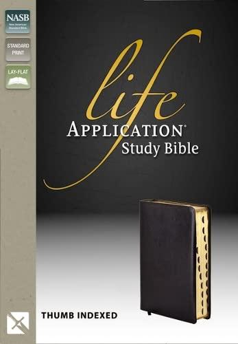 9780310916413: Life Application Study Bible, Indexed, NASB