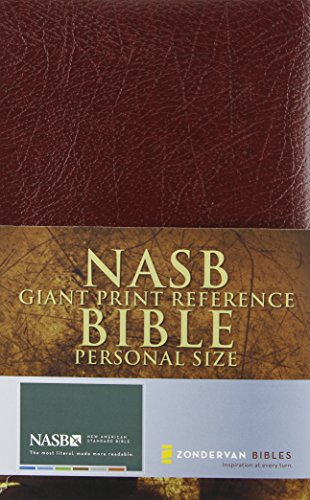 9780310916604: NASB Giant Print Reference Bible, Personal Size