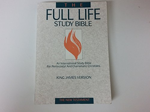 9780310916901: The Full Life Study Bible: King James Version : The New Testament