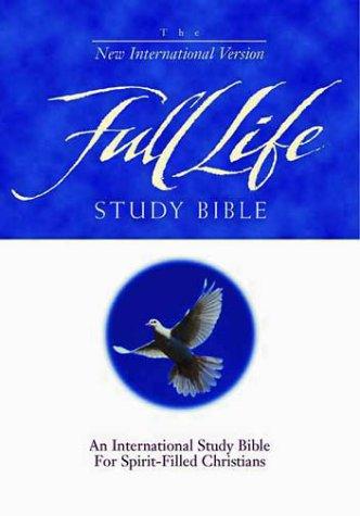 9780310916970: NIV Full Life Study Bible (Navy Bonded Leather)