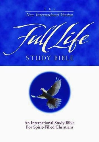 9780310917007: NIV Full Life Study Bible: Indexed (Black Bonded Leather)
