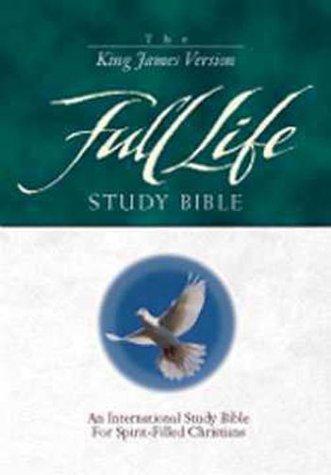 9780310917090: The Full Life Study Bible: King James Version Navy Bonded Leather