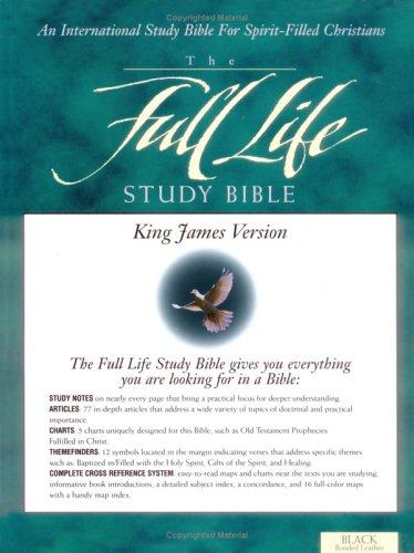 9780310917113: KJV Full Life Study Bible, The