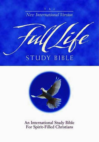 9780310917175: The Full Life Study Bible: An International Study Bible for Spirit-Filled Christians : New International Version, Black Top-Grain Leather
