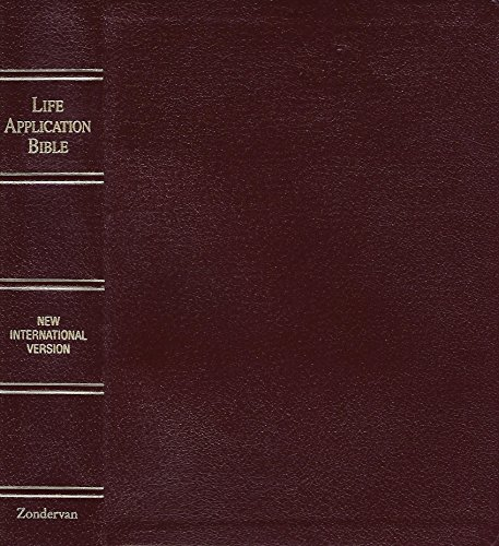 9780310917359: Bible New International Version Life Application