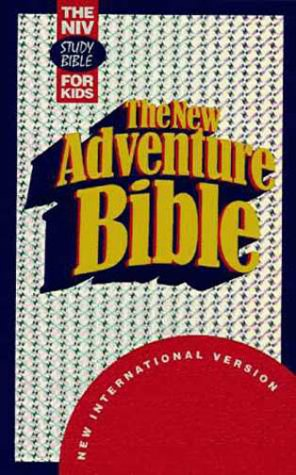9780310917625: The New Adventure Bible: The NIV Study Bible For Kids