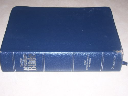 9780310917687: The New Adventure Bible: New International Version/Navy Bonded Leather