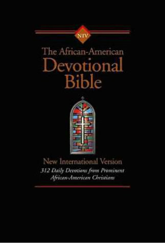 9780310917823: NIV African-American Devotional Bible Softcover