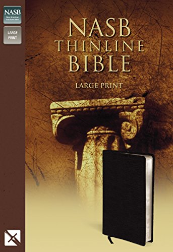 9780310917977: New American Standard Bible Thinline: Bounded Leather, Black