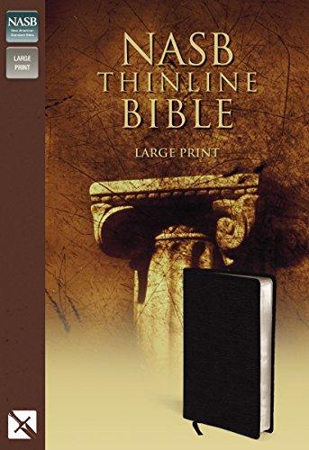 9780310917977: NASB Thinline Bible, Large Print