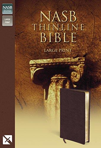 Thinline Bible-NASB-Large Print (Bonded Leather): Zondervan