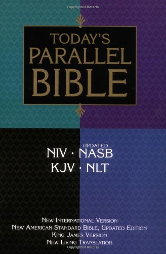 9780310918363: Today's Parallel Bible: New International Version, New American Standard Bible, Updated Edition King James Version, New Living Translation