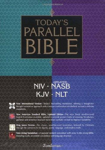 9780310918394: Today's Parallel Bible, Burgundy